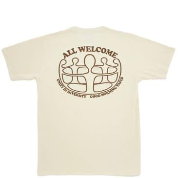 Good Morning Tapes Unity In Diversity T-Shirt - Natural