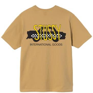 Stüssy Taxi Cab T-Shirt - Khaki