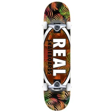 "Real ""Tropic Ovals 2"" Complete Skateboard 7.75"""