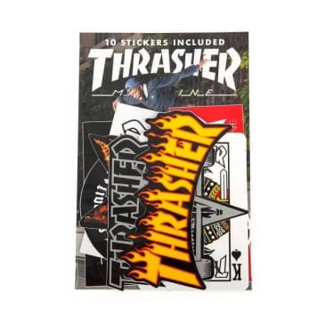 Thrasher - Sticker Pack Assorted - 10 Pack