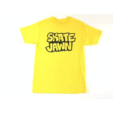 Skate Jawn - Straight Letter Tee