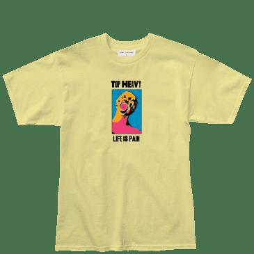 Top Heavy Pain T-Shirt - Banana