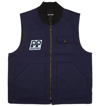 Pass~Port Packers Vest - Navy