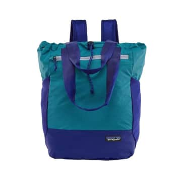 Patagonia Ultralight Black Hole Tote Bag - Curacao Blue