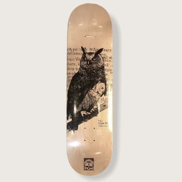 O.W.L Skateboards Eagle Owl Deck - 8.375""