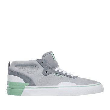 Emerica Pillar Skate Shoes - Grey / White / Green