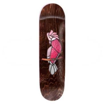 Pass~Port Stainglass Series Dean Palmer Galah Skateboard Deck - 8.125