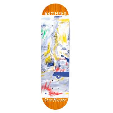 """Anti-Hero Skateboards Deck Pfanner SF Then And Nown 8.06"""""""
