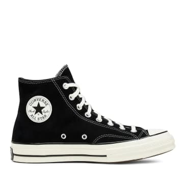 Converse Chuck 70 Hi Shoes - Black / Egret / Egret