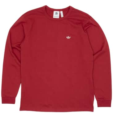 adidas Skateboarding Mini Shmoo Long Sleeve T-Shirt - Legacy Red / Alumina