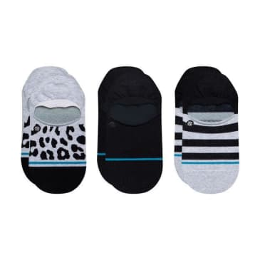 Stance Leopard 3 Pack No Show - Multi