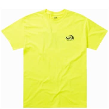 Lakai Inspired By T-Shirt - Safety Yellow