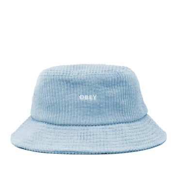 OBEY Bold Cord Bucket Hat - Ice Blue