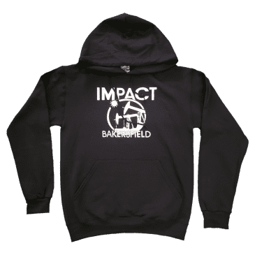 IMPACT Bakersfield Oil Hoodie Sweater Black