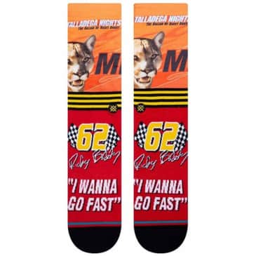 Stance I Wanna Go Fast Talladega Nights Socks