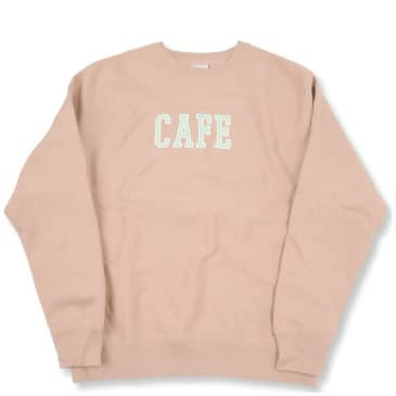 Skateboard Cafe College Heavyweight Crew - Dusty Pink