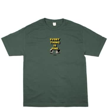 Studio Skateboards I'm Fine T-Shirt - Forest