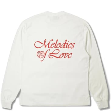 Stan Ray Melodies Long Sleeve T-Shirt - White