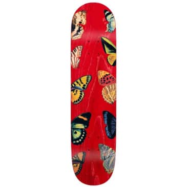 """Quasi Deck Butterfly Red 8.0"""""""