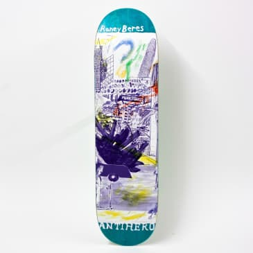 Anti Hero SF Then And Now Deck Raney Beres 8.12""