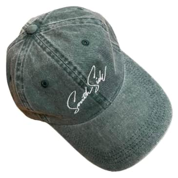Southside Hat Faded Strapback Forest Green