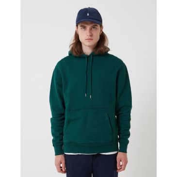 BHODE Oversized Pocket Hoodie - Forest Green (Organic Cotton, 360gms)