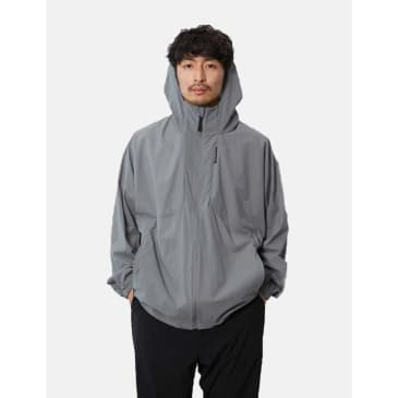 Snow Peak DWR Light Jacket - Grey Khaki