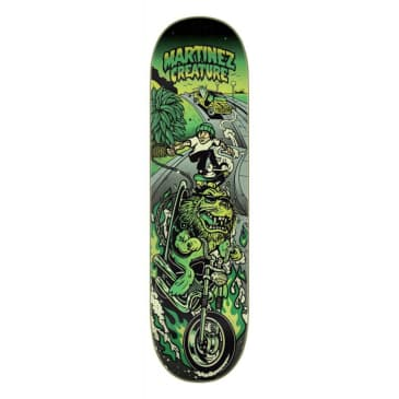 "Creature - 8.6"" Milton Martinez Playa Grande Skateboard Deck"