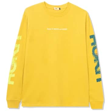 ROKIT Ripple Long Sleeve T-Shirt - Yellow