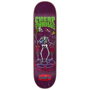 "Creature Skateboards - Kevin Baekkel Cheap Thrills Deck 8.375"" Wide"