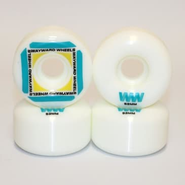 Wayward - Waypoint Wheel - 53mm (White/Green)