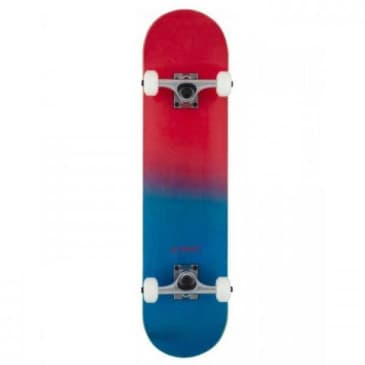 """Rocket Complete Skateboard Double Dipped Red 7.5"""""""