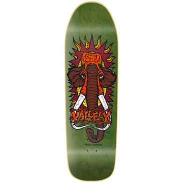 New Deal Vallely Mammoth screen Printed Green