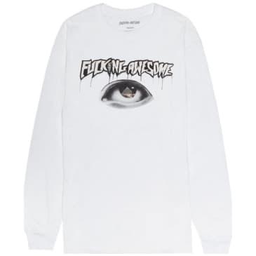 Fucking Awesome Pyramid Long Sleeve T-Shirt - White