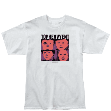 Top Heavy Absence T-Shirt - White