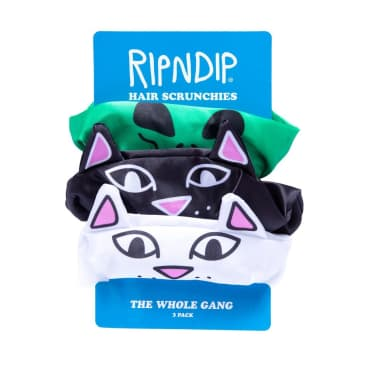 Rip N Dip Whole Gang Hair Scrunchies - Multi