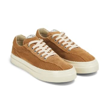 Stepney Workers Club Dellow Mens Cord Shoes - Tan
