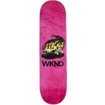 "WKND Van Down Skateboard Deck - 8.25"""