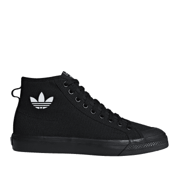 adidas Originals Nizza Hi Shoes - Core Black / Core Black / FTWR White