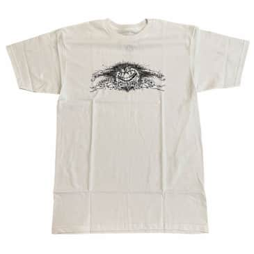 Anti Hero Tee Grimple White Black