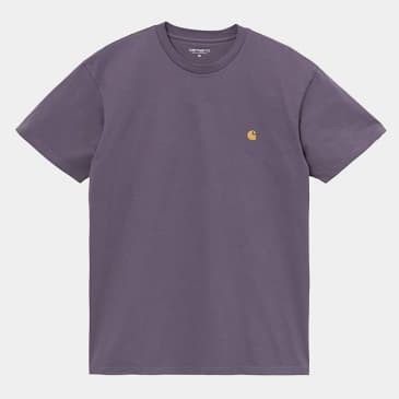Carhartt WIP - S/S Chase T-shirt - Provence/Gold