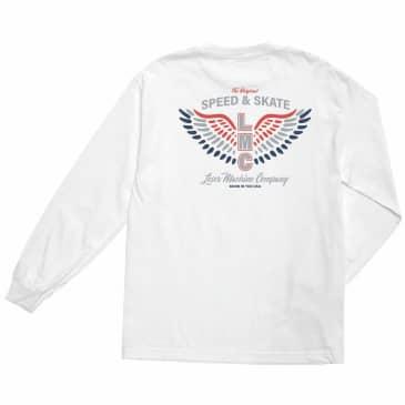 Loser Machine Patriotic Long Sleeve T-Shirt   White