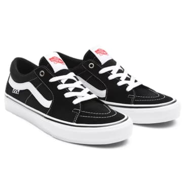 Vans - SK8-Low - Black / White