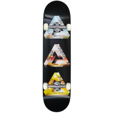 Palace Skateboards Chrome Tri-Ferg Complete Skateboard 7.75""