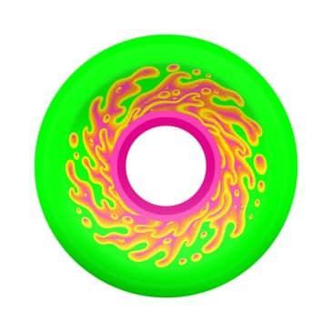 OJ Wheels Mini OG Slime Green Pink Slime Balls 78a 54.5mm