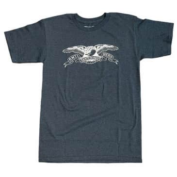 Anti Hero Tee Eagle Navy Heather