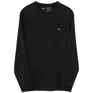 Vans Off The Wall Classic Long Sleeve Shirt - Black