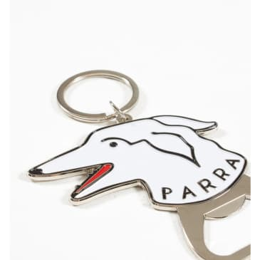 by Parra Dogface Bottle Opener - White