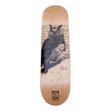 "Orwellian World Landscape Eagle Owl Deck - 8.5"""