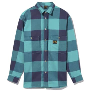 Stan Ray Flannel Shirt - Indian Green Check